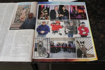 Local magazine with Kujo in it!